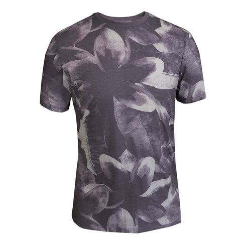 Outrage - All Over Print HIBISCUS WASH T-Shirt