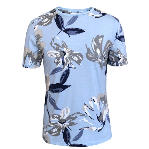 Outrage - All Over Print LARGE TROPICAL T-Shirt