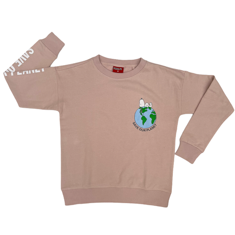 Peanuts - Save Our Planet Women's Crew Sweat SS21