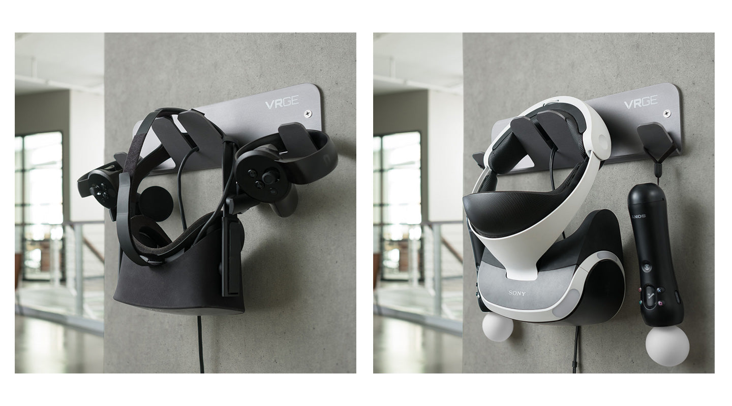 Virtual Reality Wall Storage Bracket