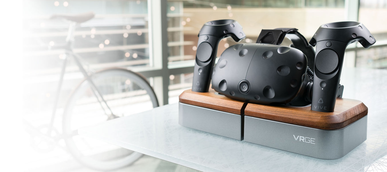 VR Docking Stand with HTC Vive