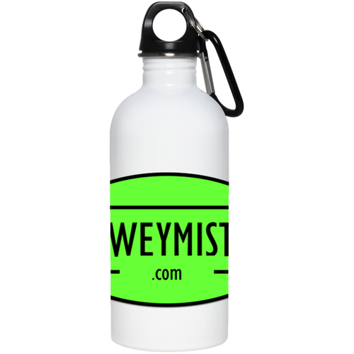 DM Green - 20 oz Stainless Steel Water Bottle