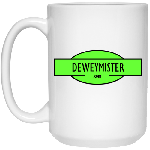 DM Green - Mug - 15oz