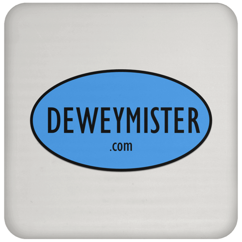DM Blue Logo - Coaster