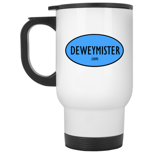 DM Blue Logo - Travel Mug