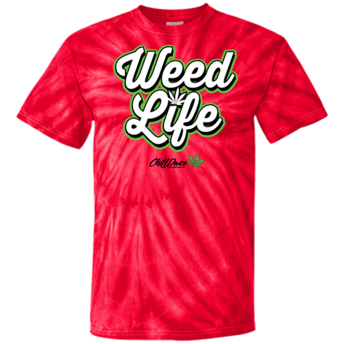 AA Weed Life  - 100% Cotton Tie Dye T-Shirt