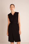 Robe Dress - Black