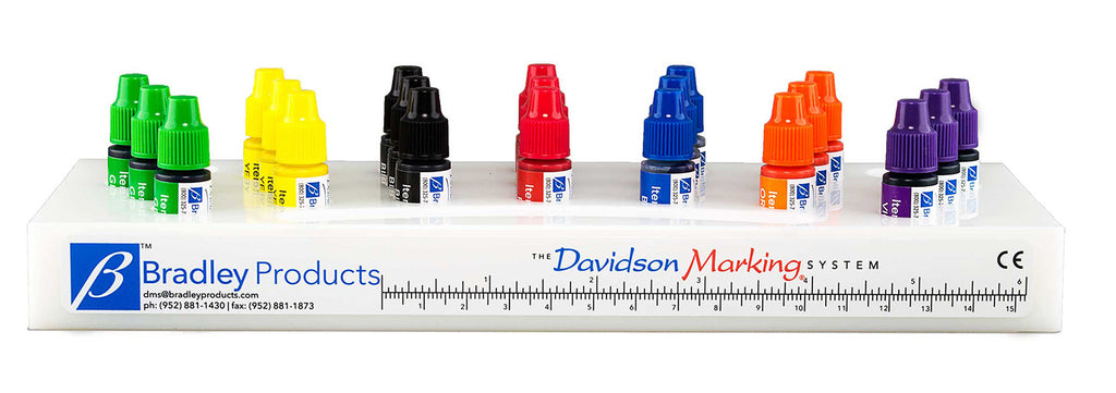 Davidson Marking System® 7-Color Set of 3cc Dyes
