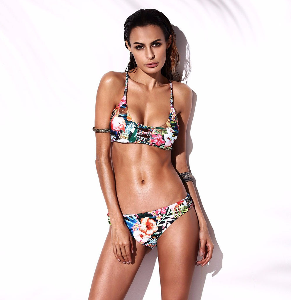 Tropical Garden Bikini Set