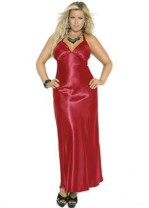 Red Gown - SexyLingerieCollection