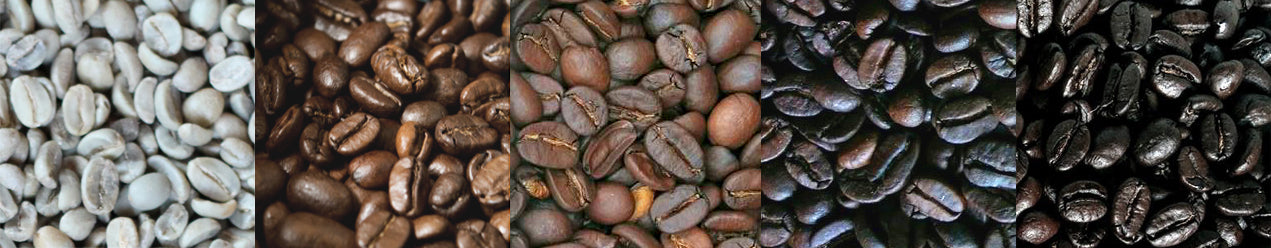 stages of roasting beans