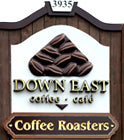 Down East Roastery Sign