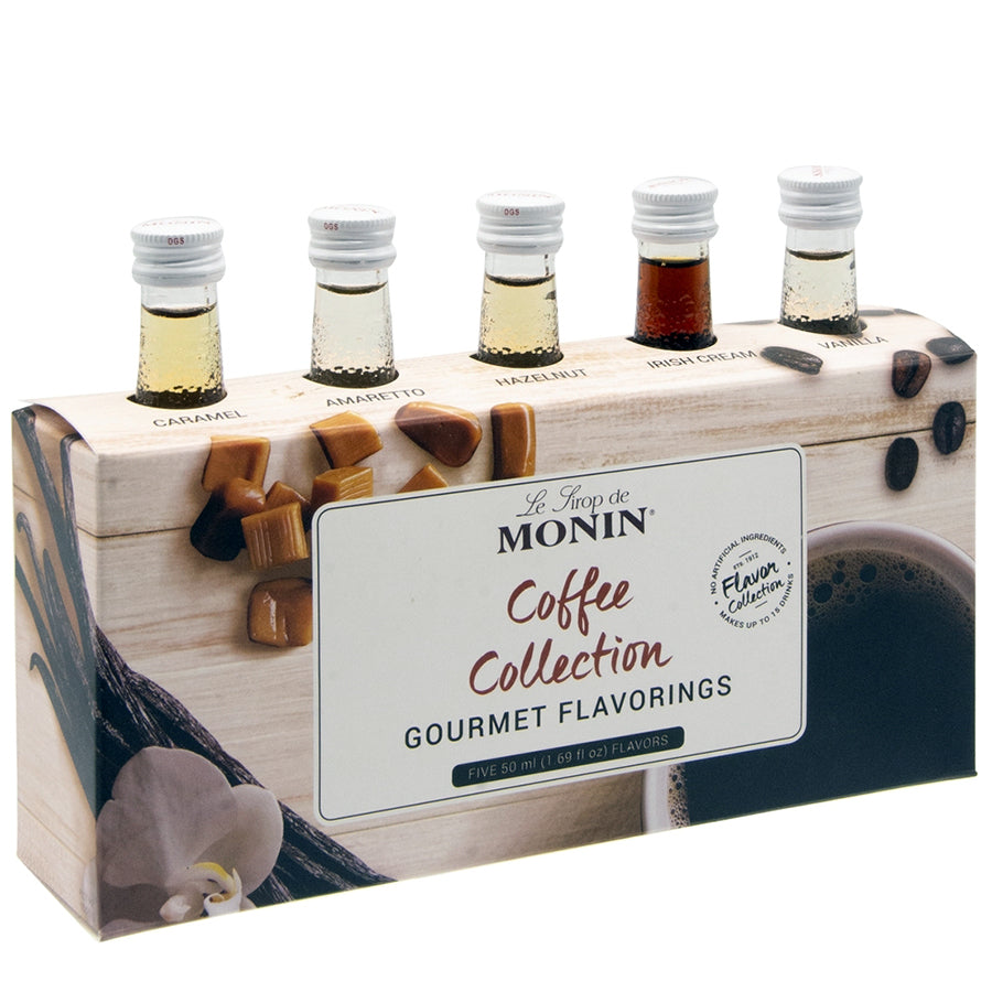 monin coffee collection syrups