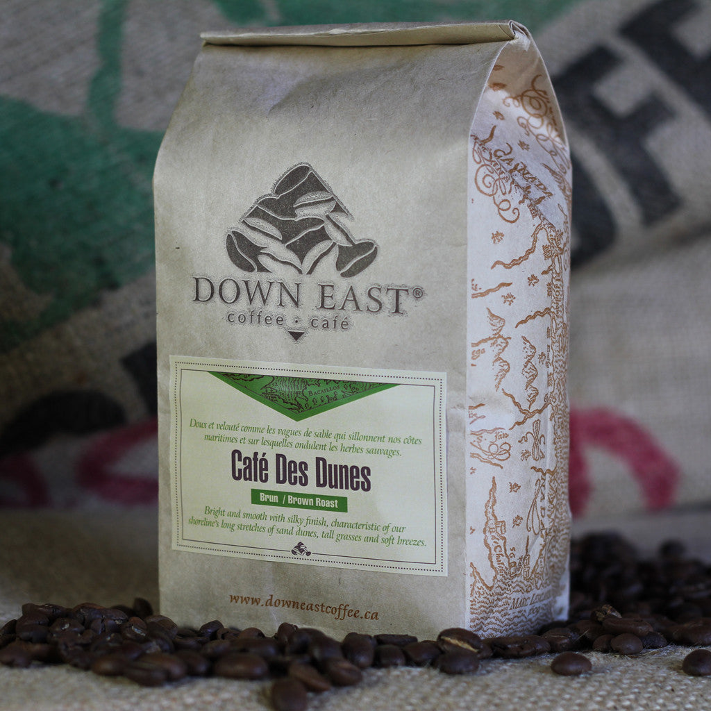 Café des Dunes is a signature coffee blend