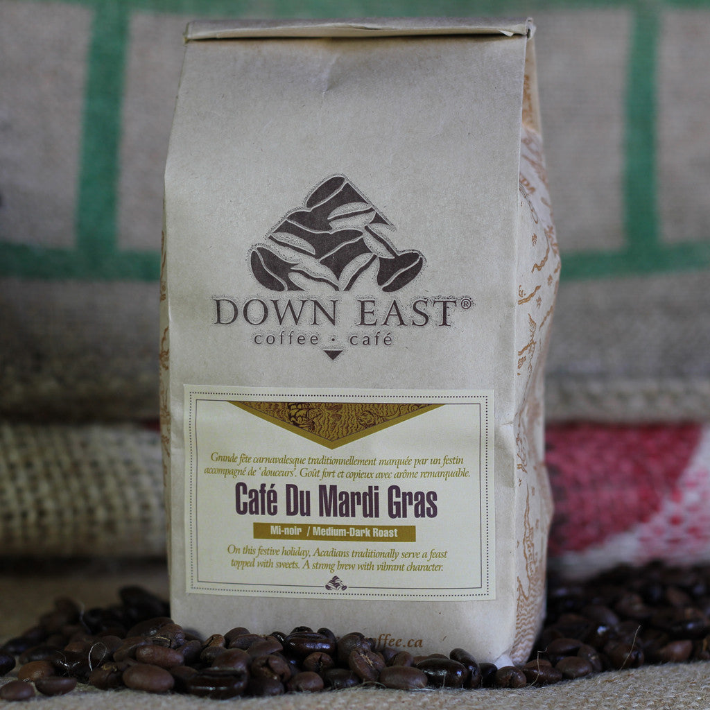 Café du Mardis gras is a signature coffee blend