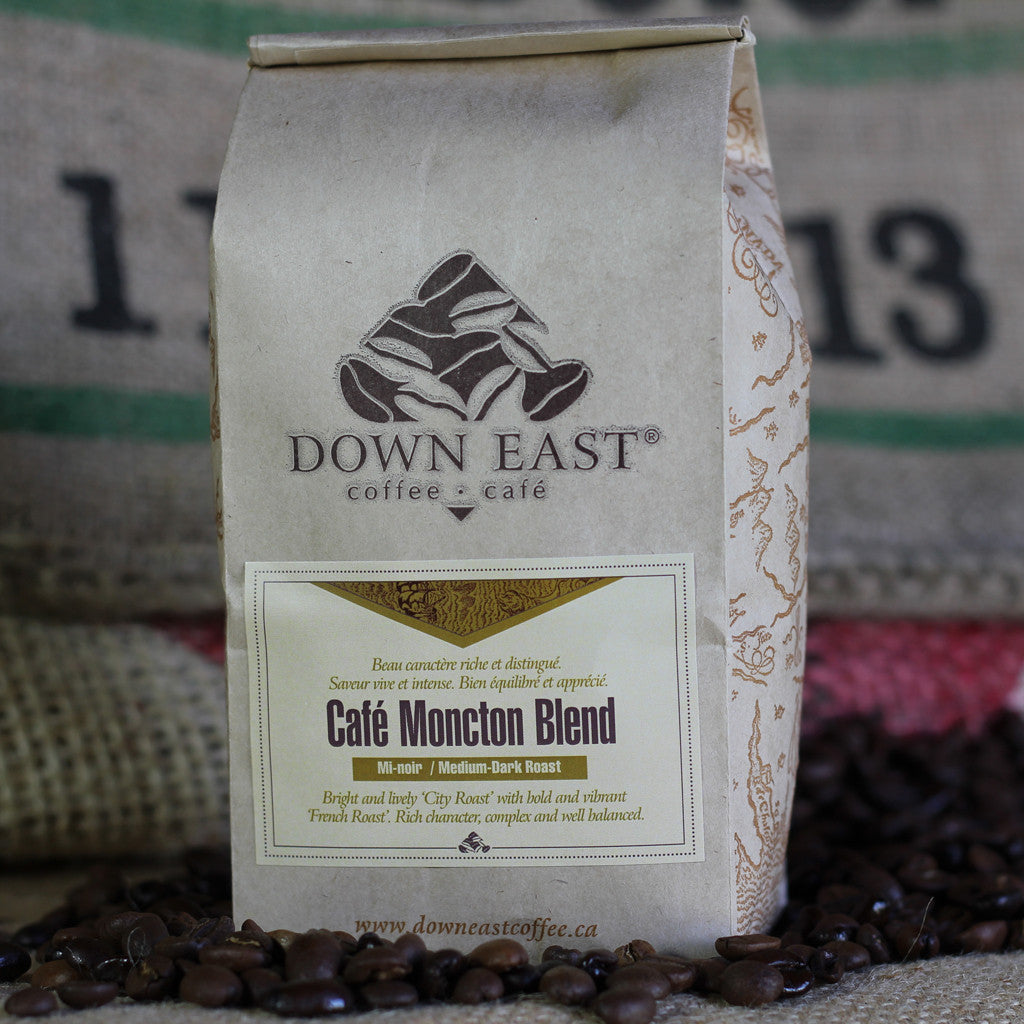 Café Moncton Blend is a signature coffee blend