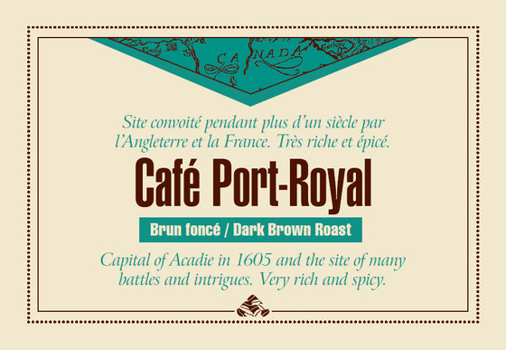 Café Port Royal is one of our Down East signature coffee blends