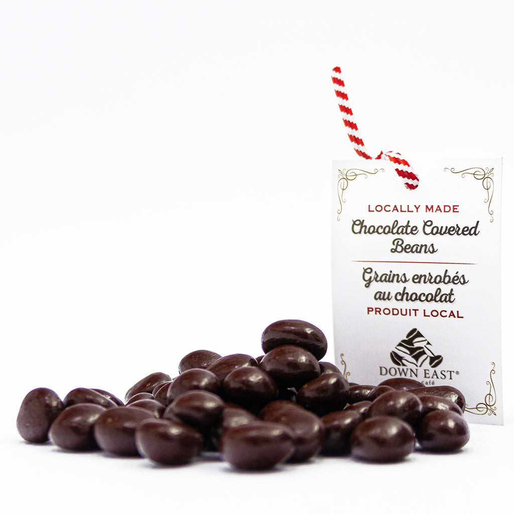 Down East chocolate covered coffee beans