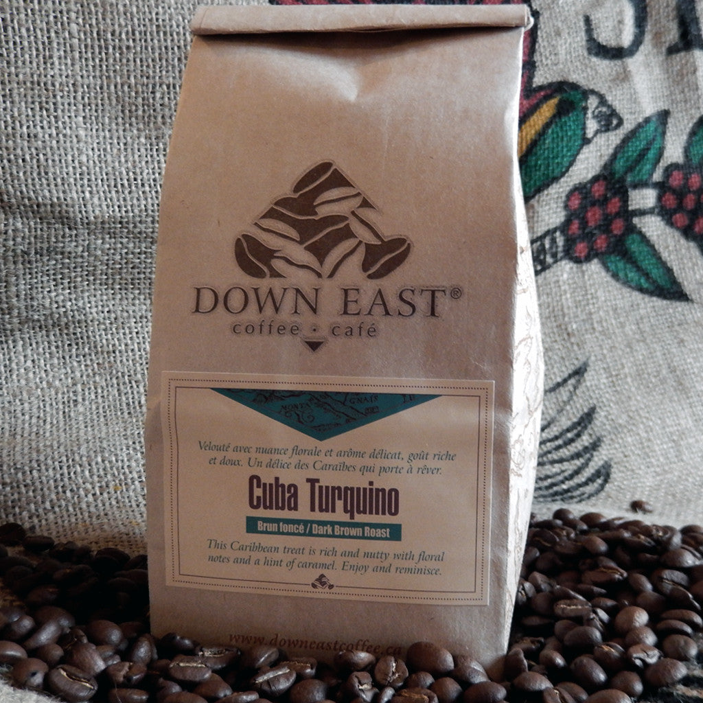 Cuba Turquino Down East coffee pouch