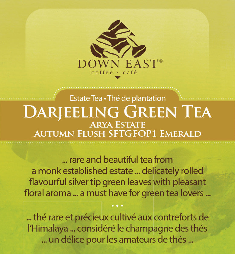 darjeeling green tea