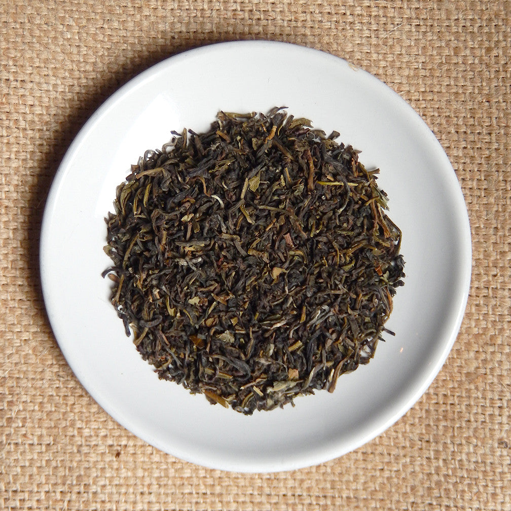 darjeeling green - loose leaf tea