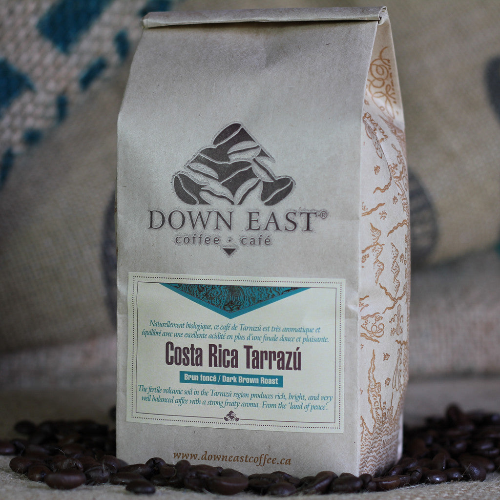 Costa Rica Tarrazú Down East coffee pouch