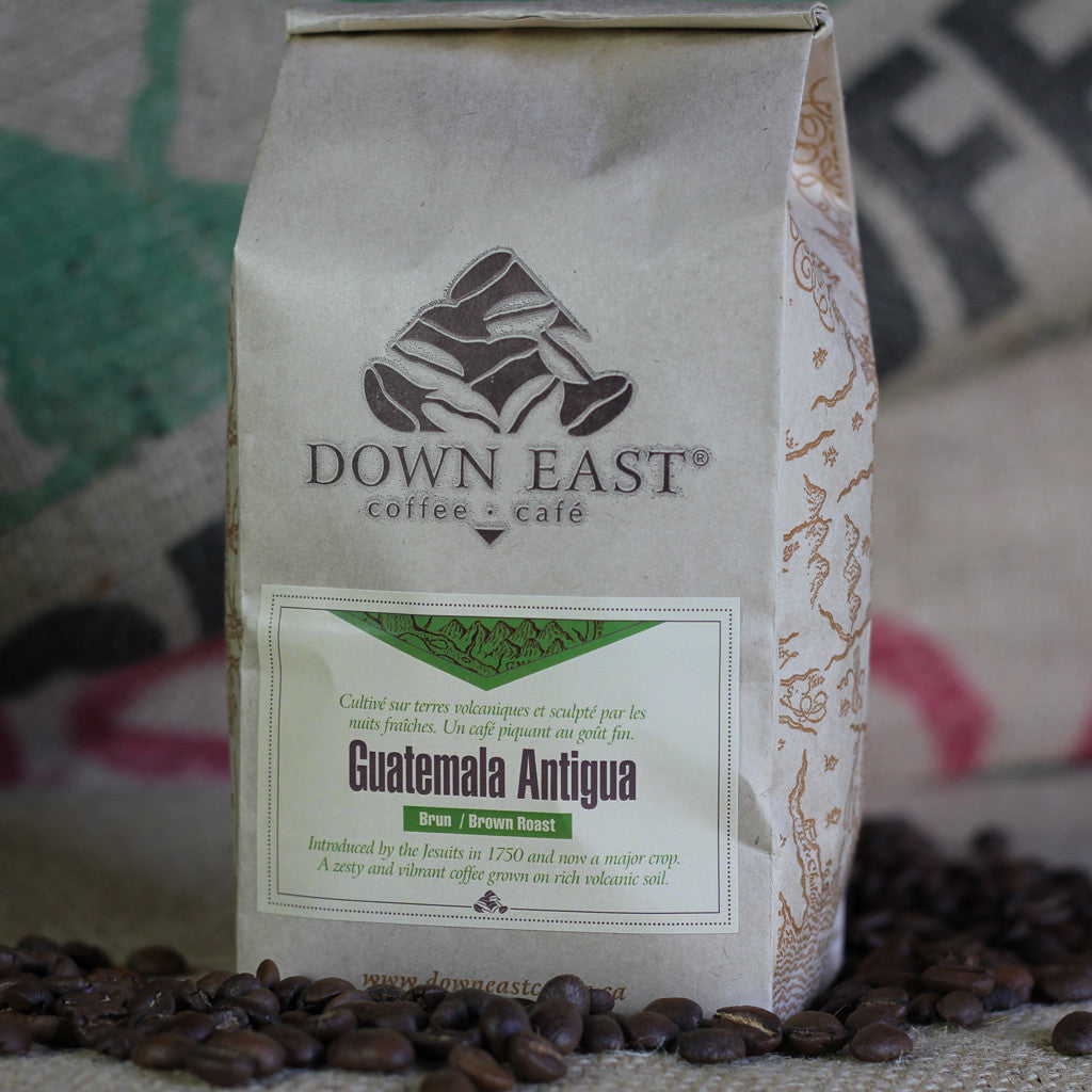 Guatemala Antigua Down East coffee pouch