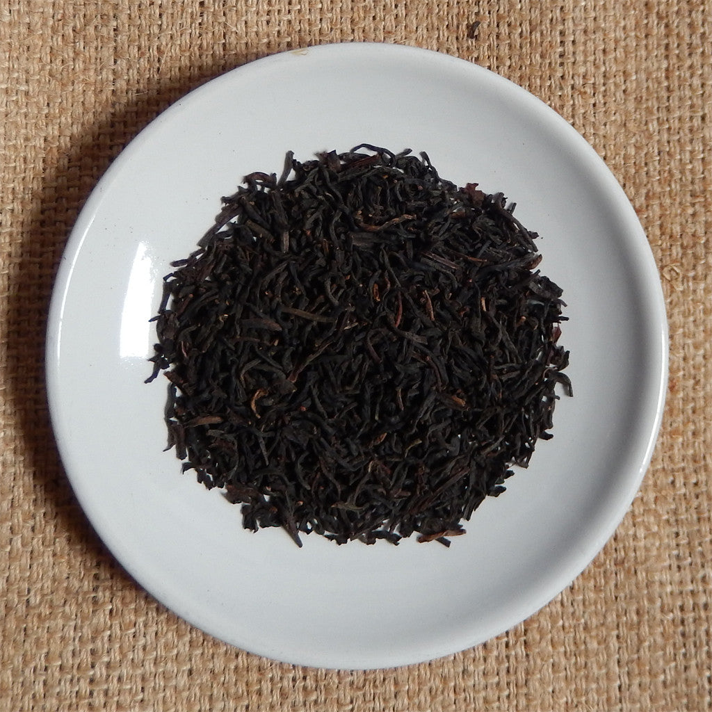 BLACK TEA LEAVES: Earl Grey DECAF Loose Leaf Tea - black - Down East Coffee Roasters
