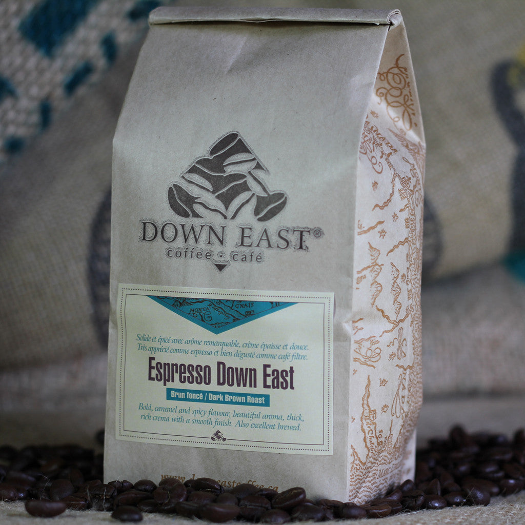Espresso Down East coffee pouch
