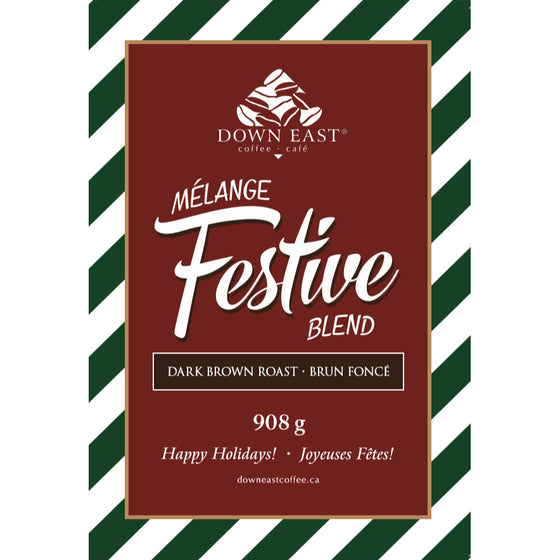 festive label for Christmas coffee 2 1b