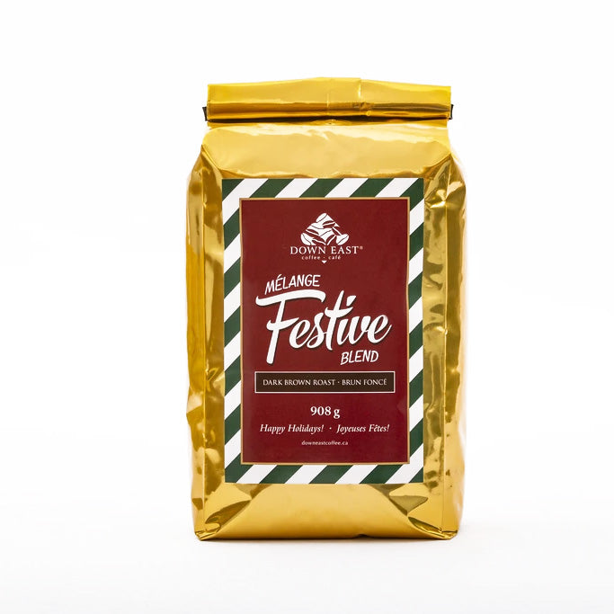 festive Down East coffee blend