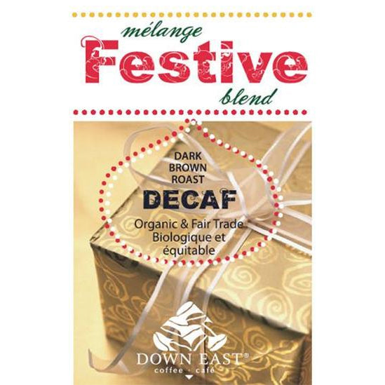 festive Christmas blend 2018 decaffeinated