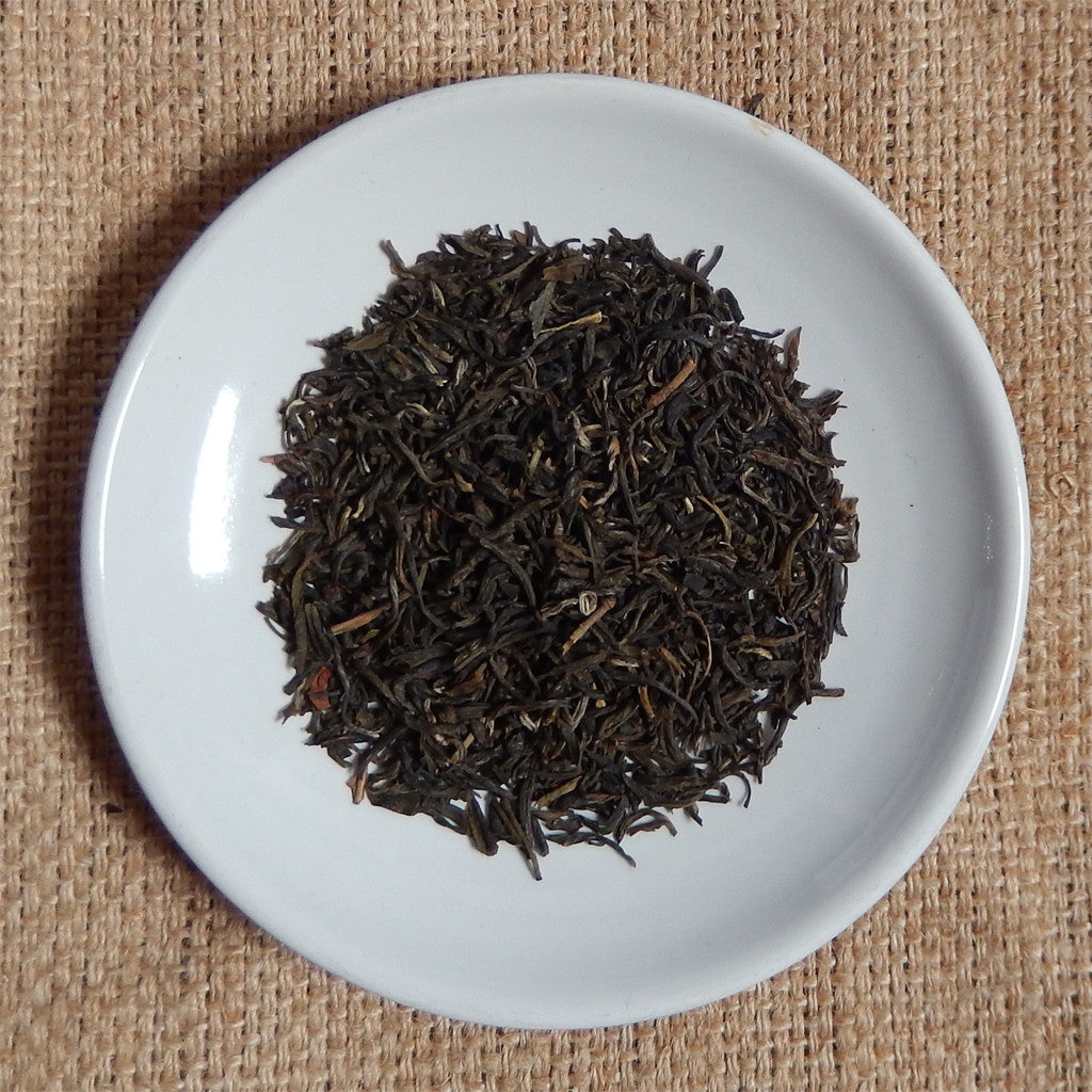 GREEN TEA LEAVES : Jasmine Silver Tip Loose Leaf Tea - GREEN - Down East Coffee Roasters