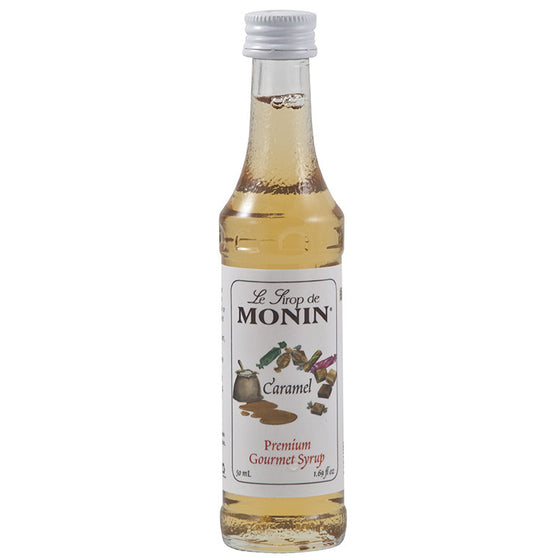 Monin mini caramel syrup