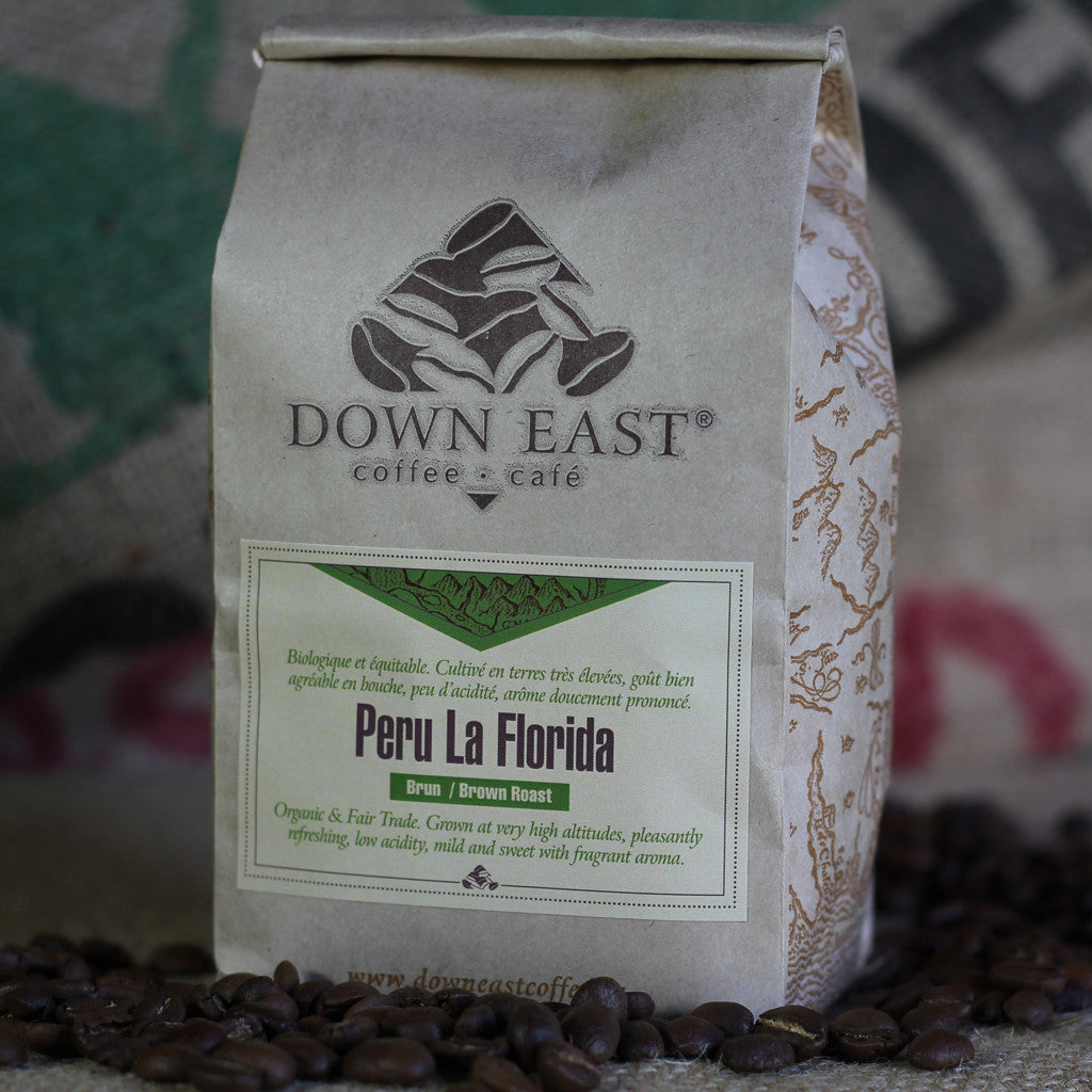Peru La Florida Organic Fair Trade coffee pouch