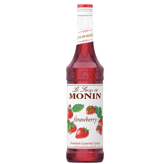 strawbery flavor mini monin syrup
