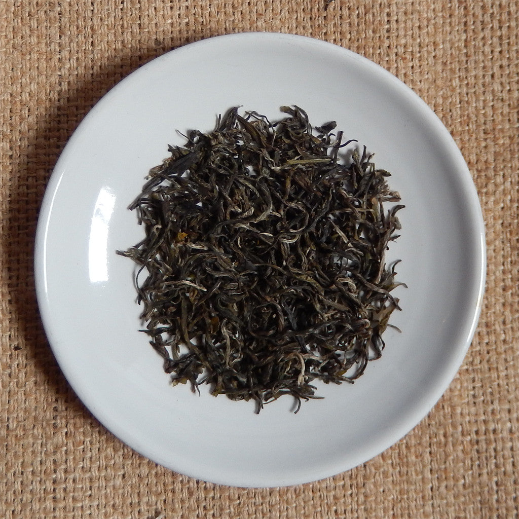 GREEN TEA LEAVES : Zhejing Mao Feng Loose Leaf Tea - GREEN - Down East Coffee Roasters