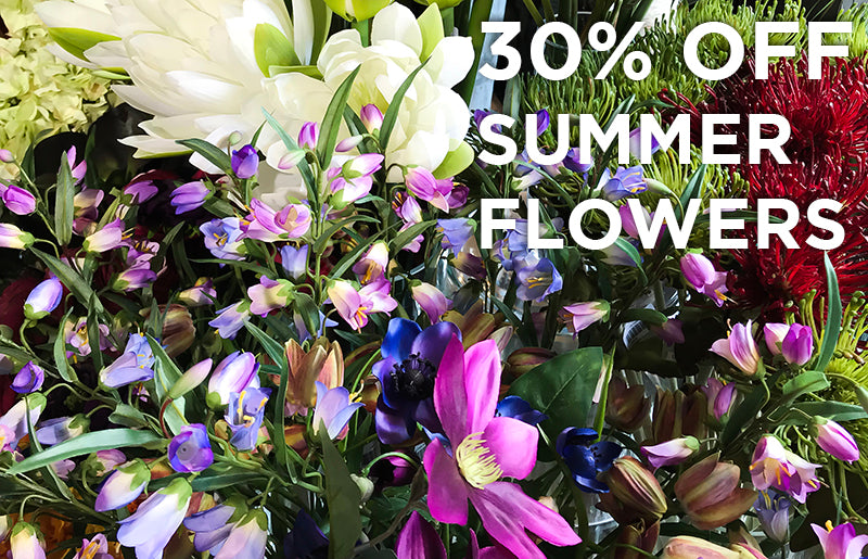 30% OFF Summer Flower Stems...