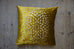 Damson Chrysanthemum Velvet Cushion
