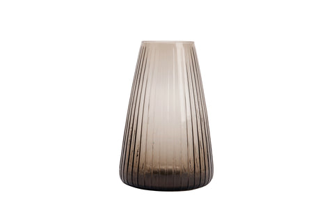 Dim Stripe Glass Vase