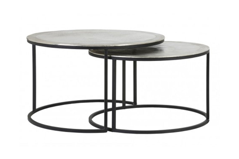 Armas Raw Nickel Coffee Table