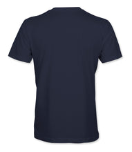 Stamina for Sale -Navy with metallic gold print - Large chest logo