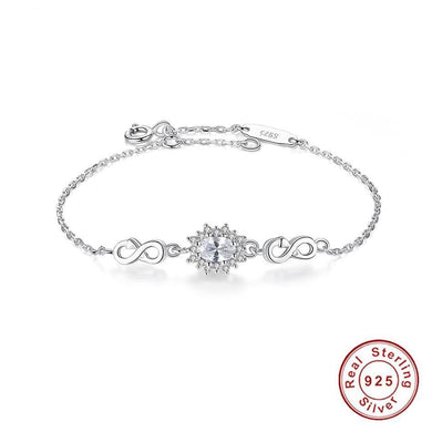 Classic Sterling Silver Adjustable Bracelet - Divinesolutions