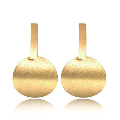 Curved Stainless Steel Earrings - Divinesolutions
