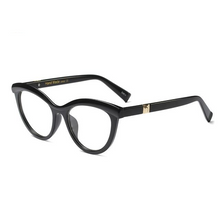 Unique Cat Eye Leopard Glasses Frame - Divinesolutions