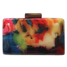 Yvonne Acrylic Colourful Clutch bag - Divinesolutions