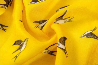 Bird Print Shawl - Divinesolutions
