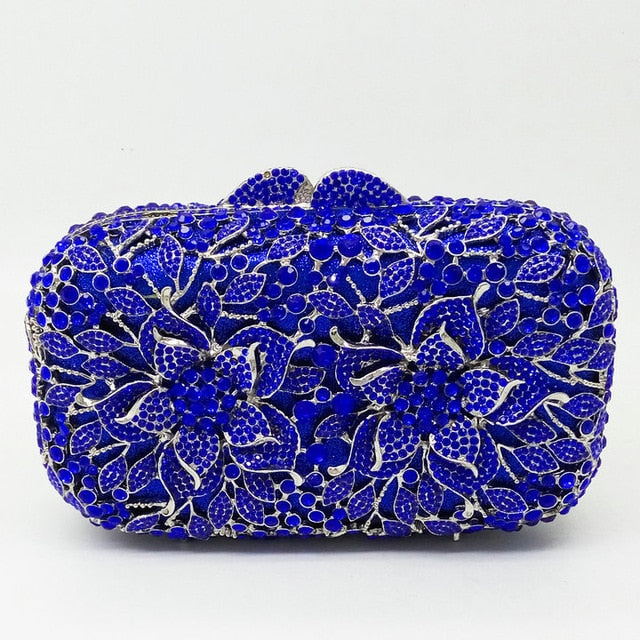 Chesca Dazzling Crystal Clutch Bag - Divinesolutions