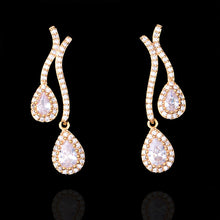 Elegant Waterdrop Cubic Zirconia Earring - Divinesolutions