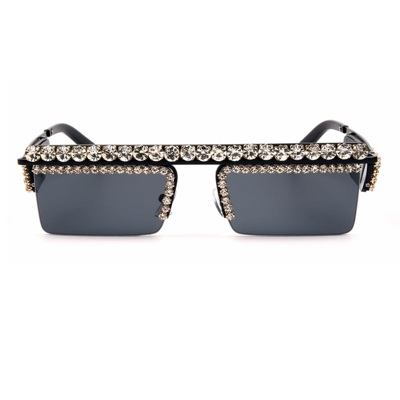 Square vintage sunglasses - Divinesolutions